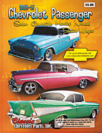Parts for 1955-1957 Chevrolet passenger cars